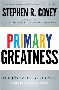 Primary Greatness Book