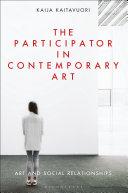 The Participator in Contemporary Art