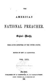 The American National Preacher: Volumes 30-31