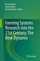 Farming Systems Research into the 21st Century  The New Dynamic PDF