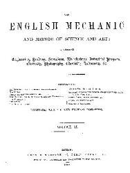 English Mechanics and the World of Science PDF