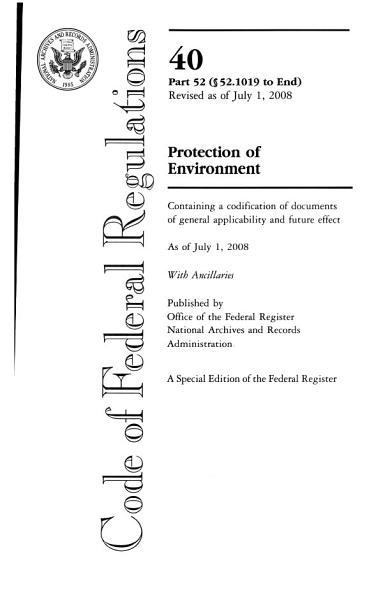 Download Code of Federal Regulations Book
