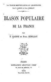 Blason populaire de la France