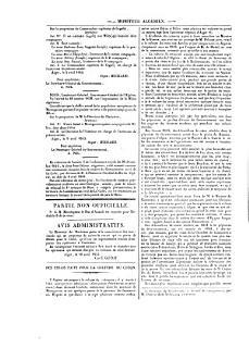 Algeria  Moniteur algeri  n  Journal officiel de la colonie  nr  532 880  5 avril 1843 10 fevr  1848  2 v Book
