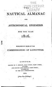The Astronomical Ephemeris for the Year ...
