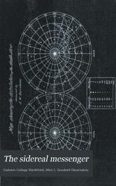 The Sidereal Messenger: A Monthly Review of Astronomy, Volumes 3-4