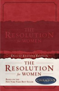 The Resolution for Women  LeatherTouch Book