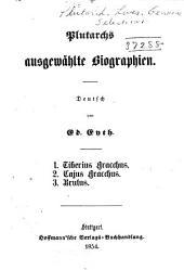 Plutarchs ausgewählte biographien: Band 1