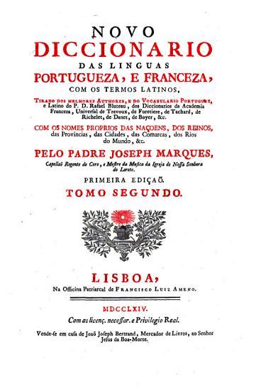 Nouveau Dictionnaire Des Langues Fran  oise Et Portugaise PDF