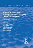 Models of Employee Participation in a Changing Global Environment  Diversity and Interaction PDF