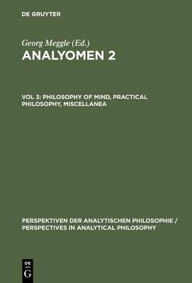 Analy  men 2  Logic  epistemology  philosophy of science