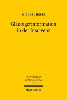 Gl  ubigerinformation in der Insolvenz PDF