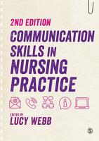 Communication Skills in Nursing Practice PDF