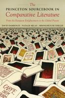 The Princeton Sourcebook in Comparative Literature PDF