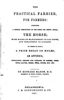 The Practical Farrier  for Farmers PDF