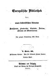 Pisistratus Caxton: Bunte Bilder aus dem englischen Leben, Band 3