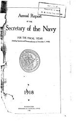 Annual Report Of The Secretary Of The Navy Book PDF