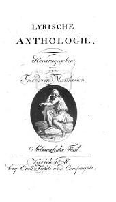 Lyrische Anthologie: Band 17