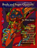 Bards and Sages Quarterly  July 2016  PDF