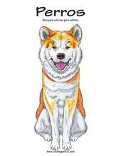 Perros libro para colorear para adultos 1