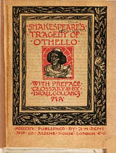 Shakespeare s Tragedy of Othello Book