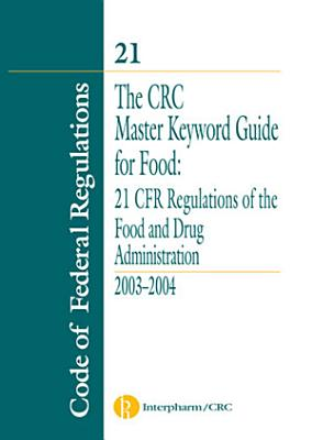 The CRC Master Keyword Guide for Food