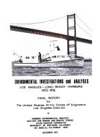 Environmental Investigations and Analyses for Los Angeles   Long Beach Harbors  Los Angeles  California 1973 1976 PDF