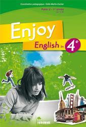 Enjoy English 4e - Manuel numérique élève: Méthode d'Anglais Collège