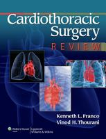 Cardiothoracic Surgery Review PDF