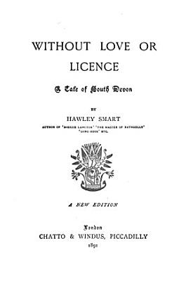 Without Love Or Licence PDF