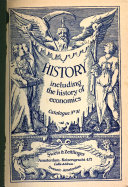 Download History  Including the History of Economics     Book