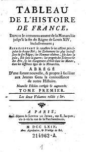 Tableau de L'Histoire de France