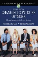 Changing Contours of Work PDF