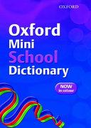 Oxford Mini School Dictionary (2007)