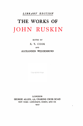 The works of John Ruskin: Volume 30