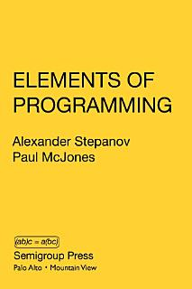 Elements of Programming Book
