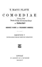 T. Macci Plavti Comoediae: Volume 2