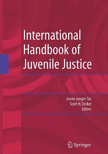 International Handbook of Juvenile Justice PDF