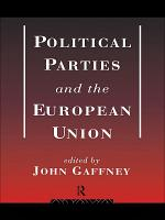Political Parties and the European Union PDF