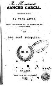 Sancho García: composición trágica en tres actos