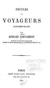 Peuples et voyageurs contemporains