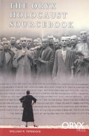 The Oryx Holocaust Sourcebook PDF