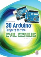 30 Arduino Projects for the Evil Genius  Second Edition PDF
