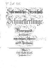 Systematisches Verzeichniß der Schmetterlinge der Wienergegend