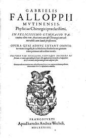 Opera quae adhuc extant omnia
