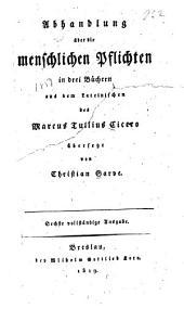 Abhandlung über die menschlichen Pflichten: Bände 1-4