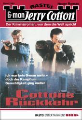 Jerry Cotton - Folge 2163: Cottons Rückkehr