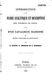 Introduction a une flore analytique et descriptive des environs de Paris
