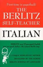 The Berlitz Self-teacher, Italian