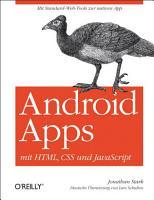 Android Apps mit HTML  CSS und JavaScript PDF